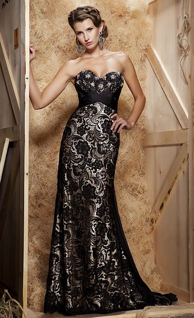 MacDuggal Couture Demure Yet Sexy Ball Gown 78439D French Novelty