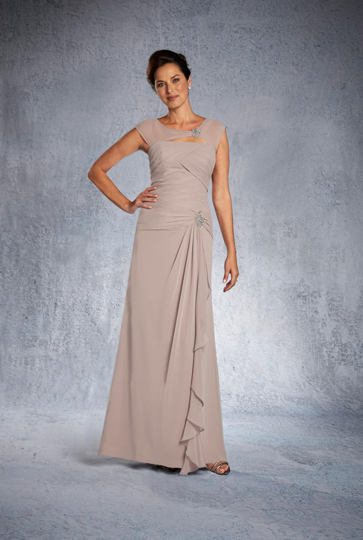 Alfred Angelo 9020S Short Mother of the Bride Dress