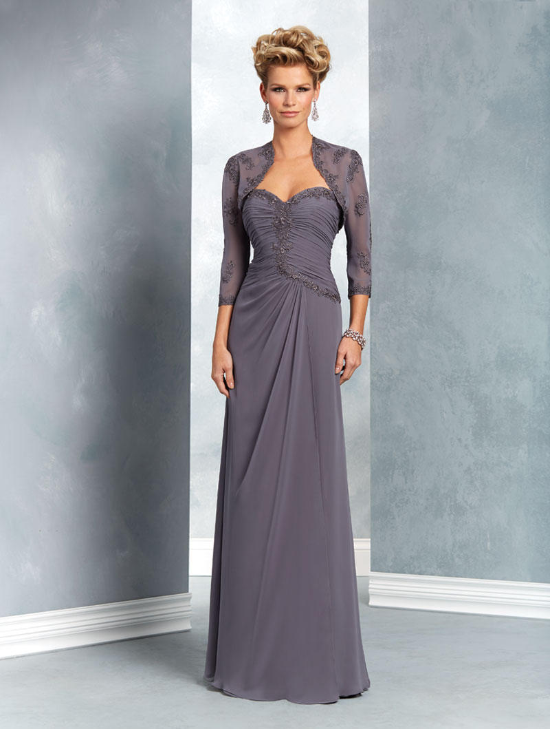 Alfred Angelo 9051 Mothers Gown with Bolero French Novelty