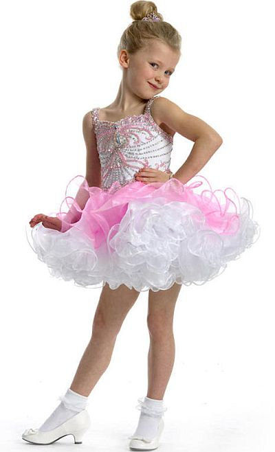 Perfect Angels 1463 Little Girls Organza Pageant Dress