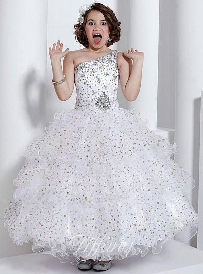 Tiffany Princess Girls Winning Pageant Dress 13322 French
