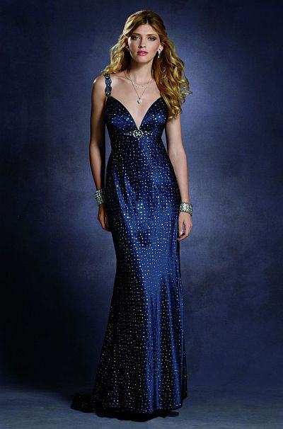Starry Night Twilight Prom Dress 4012 by Alfred Angelo French Novelty