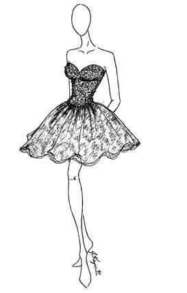 Johnathan Kayne Organza Cupcake Short Prom Party Dress 214
