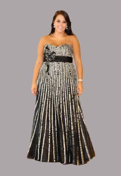 Sydneys Closet SC7070 Plus Size Floral Dress French Novelty
