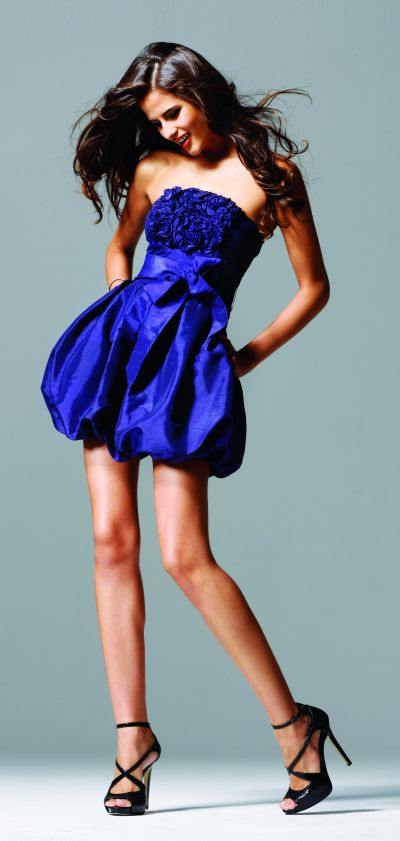 Homecoming Dresses Sutache Bodice Faviana Short Bubble