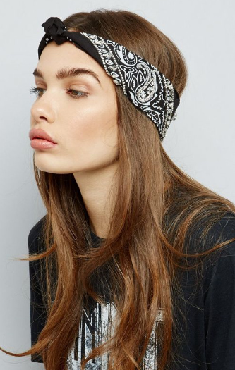new look bandana cheveux