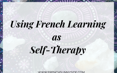 Learning French for Self-Therapy