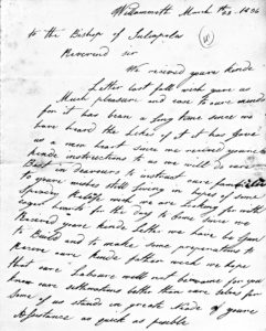 Bio/WHP: Genevieve St. Martin (1814-1904)