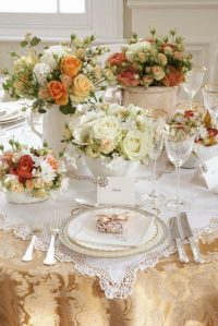 French Shabby Chic Style: Part 2 - Table Decoration