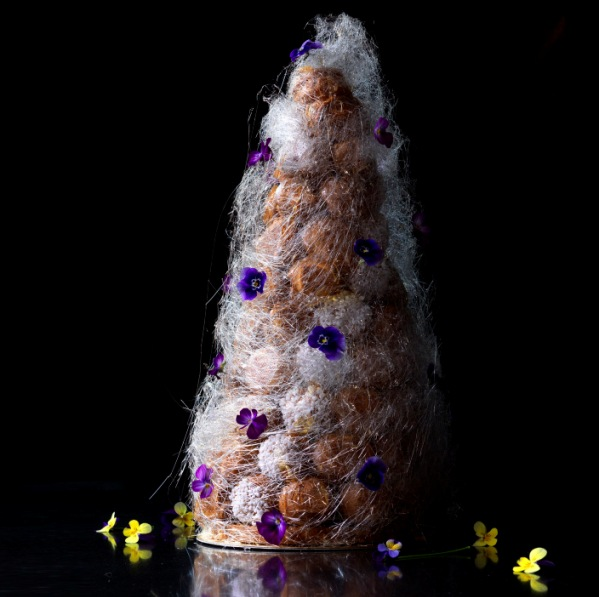 Wedding Croquembouche The French Wedding Cake