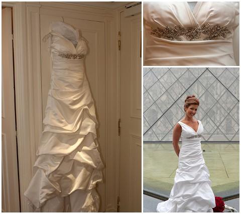Belle Momenti paris wedding dress