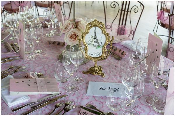 Romantic Dusky Pink Wedding In Burgundy