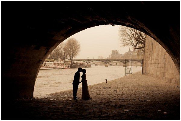 casamento no Rio Sena