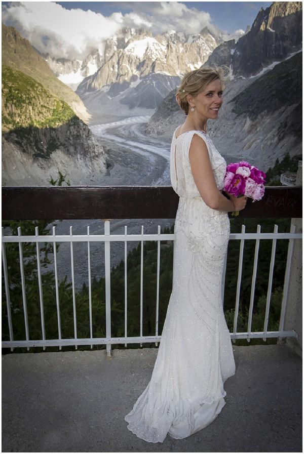 Romantic Wedding At Altitude In The Alps