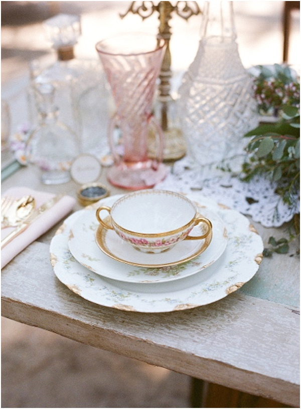 Vintage Chic French Wedding Inspiration