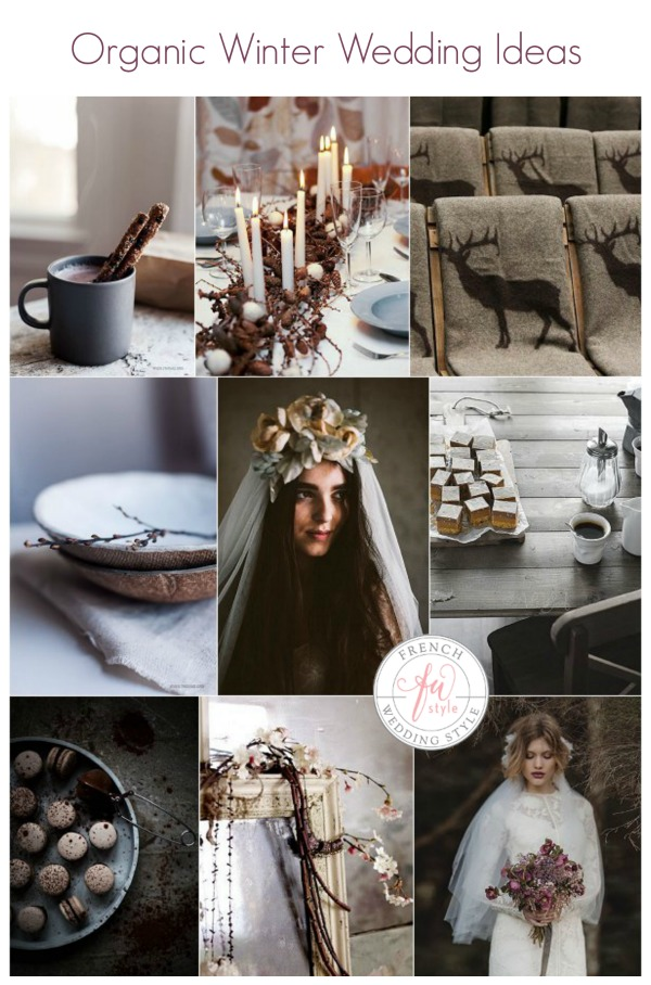 Organic Winter Wedding Ideas