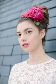 parisian floral headdresses