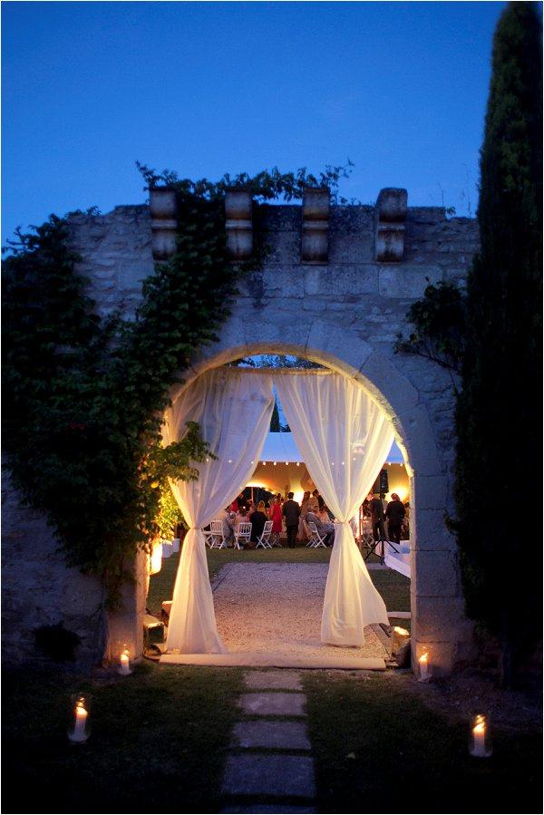 Shabby Chic Wedding In Luberon