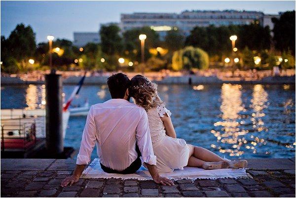 Romantic Paris Elopement Session