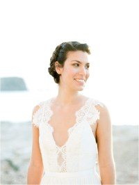 Bridal Hair and Make up in France with Victoria Farr