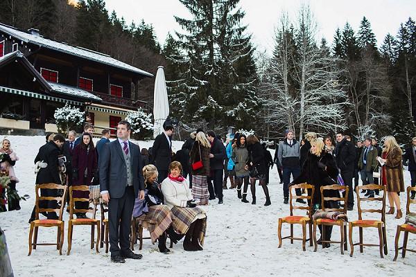 The Farmhouse Morzine Wintertime Wedding French Wedding