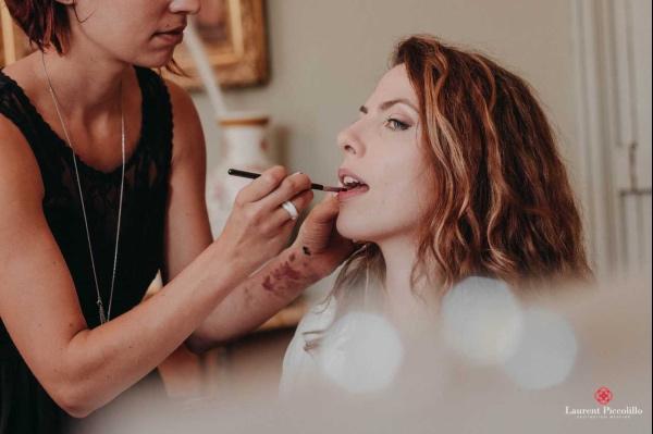 maquillage de mariée français