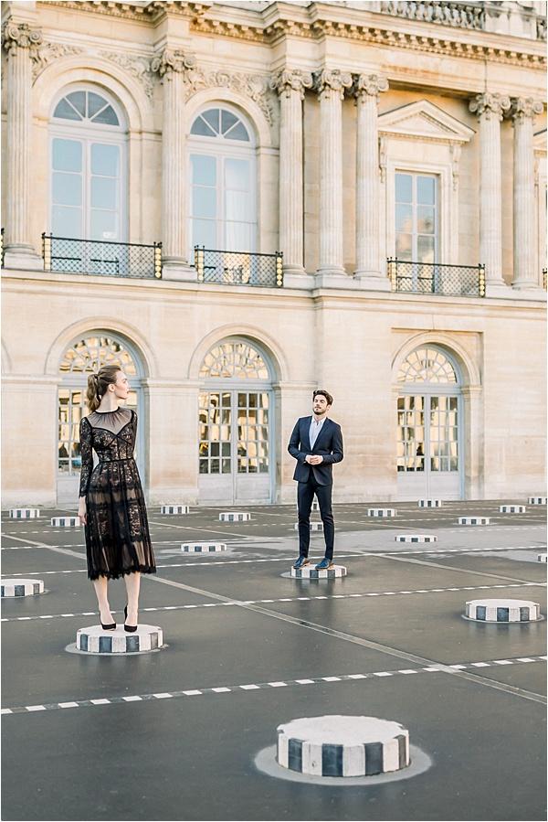 Séance photo de fiançailles à Paris