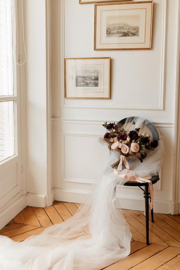 Accessoires de mariée français