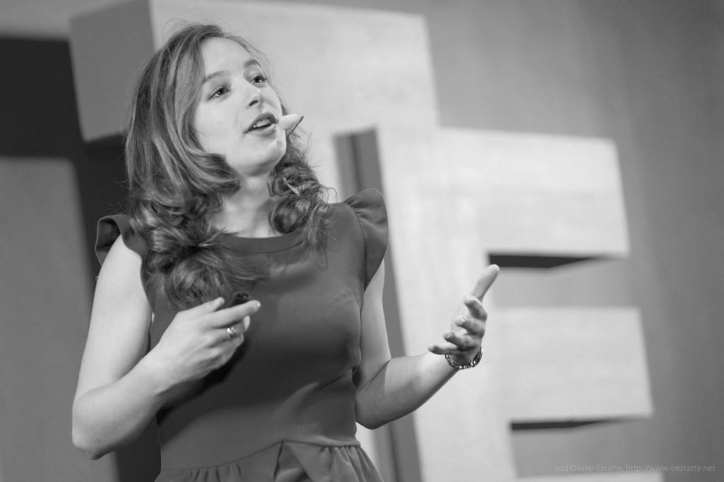 (TEDx Champs Elysees Women Dec2013) Claire CanoBW (26)