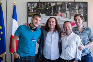 Florian Mosca, Frédéric Hermelin, Laurent Lingelser, Romain Saillet