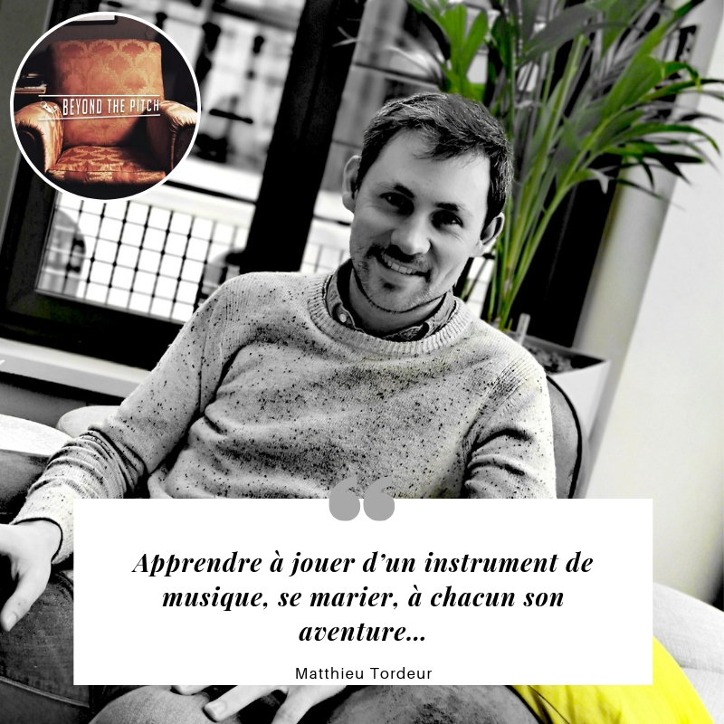 Matthieu Tordeur Quote