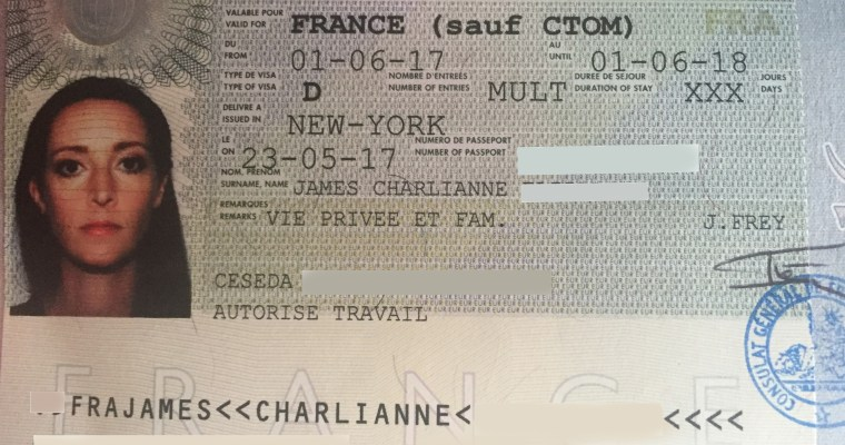 Visa Long Sejour guide for American spouse of French citizen