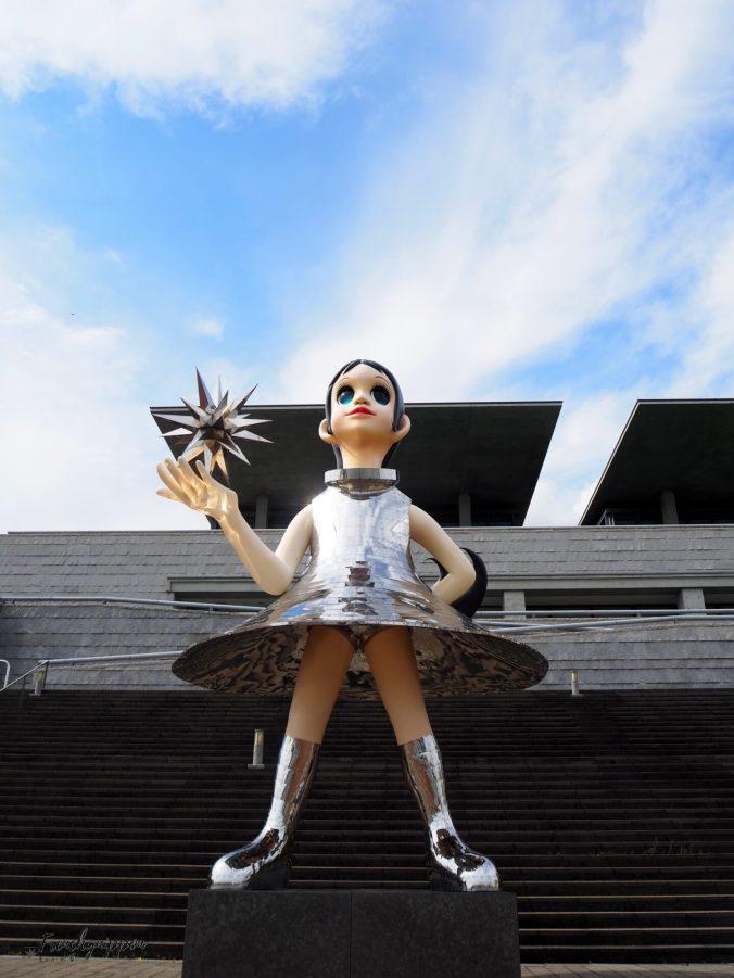 statue de Nagisa, the sun sister