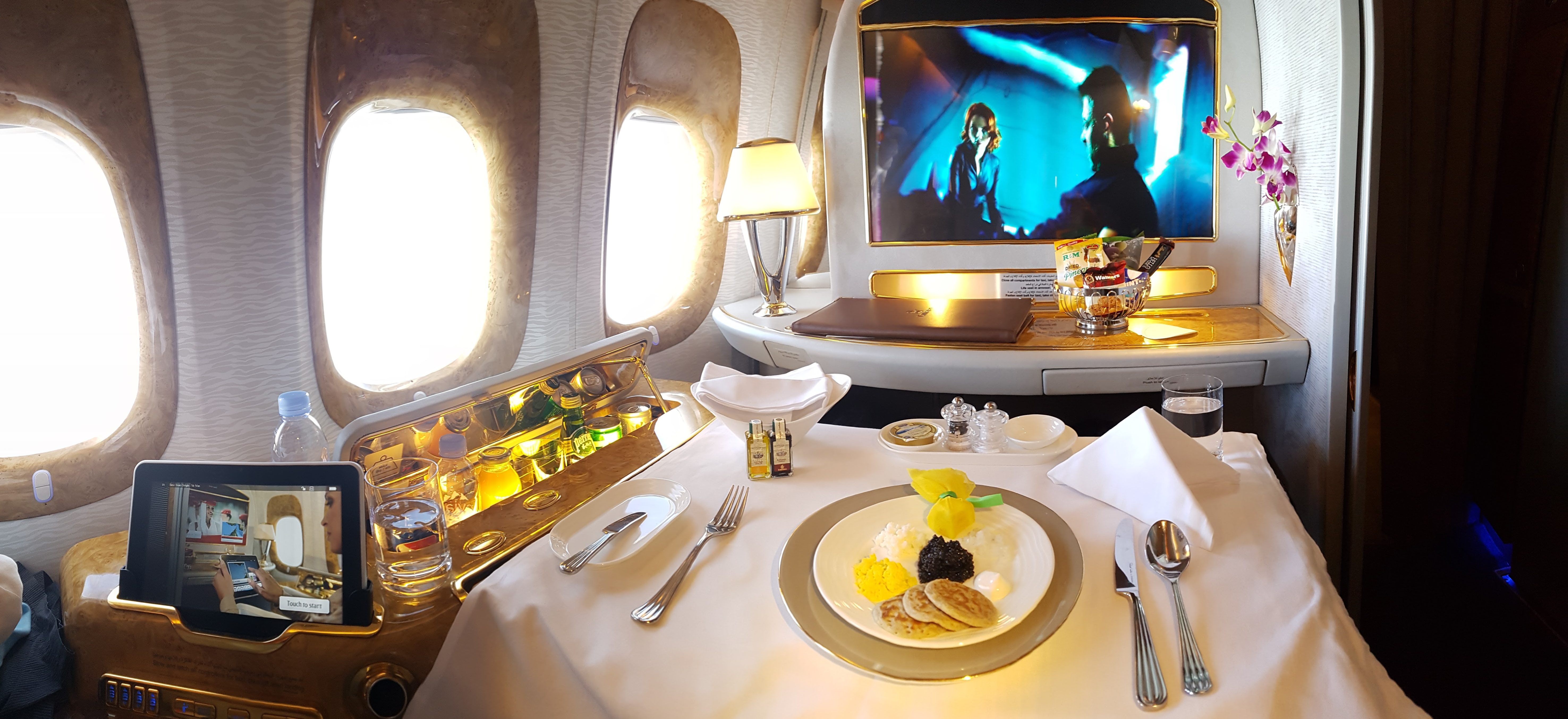 Emirates First Class: Top ten things that are over the top!