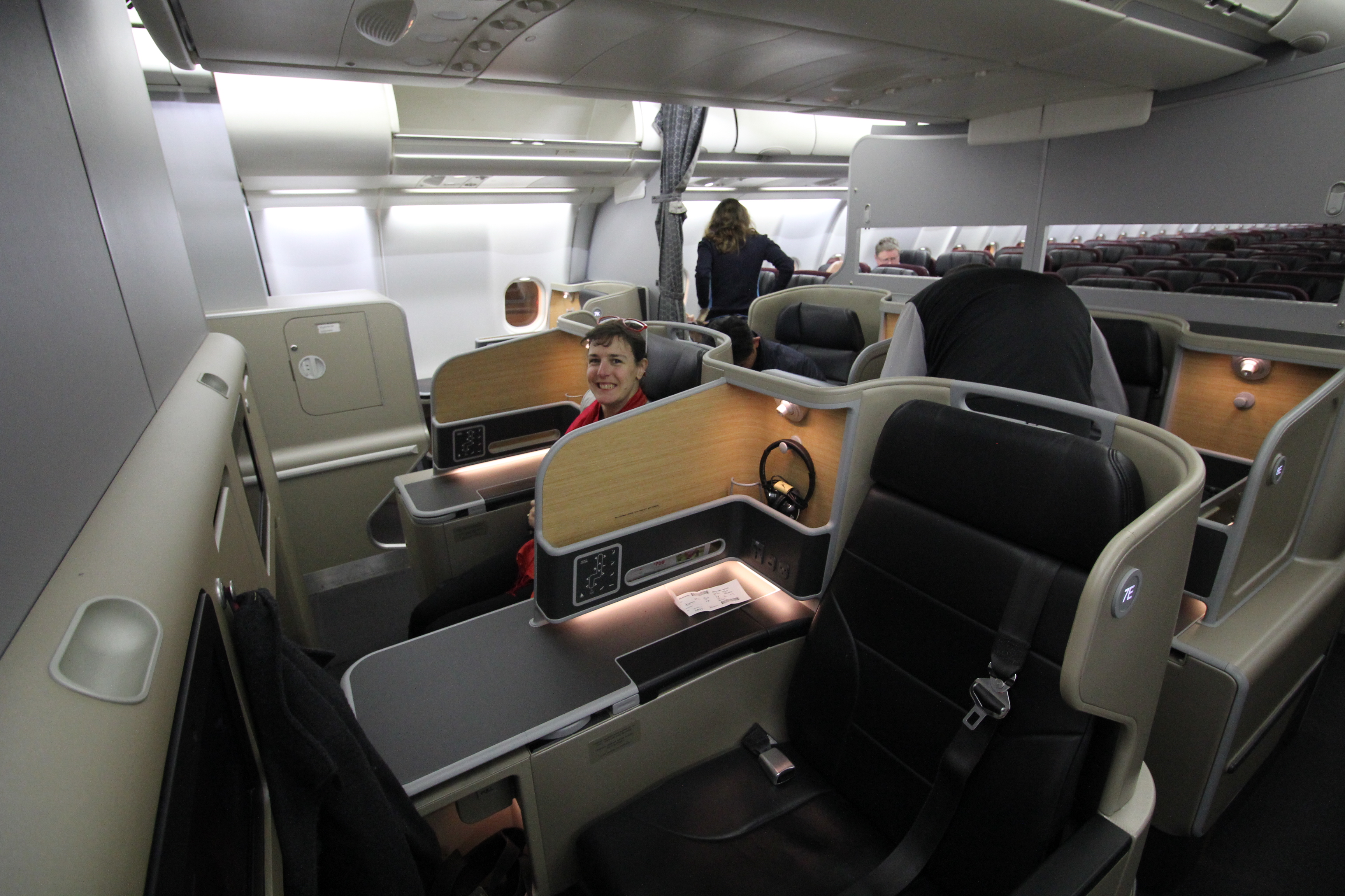 Qantas A330 Domestic Business Class