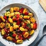 Ofen-Gnocchi mit Paprika für 4 Personen
