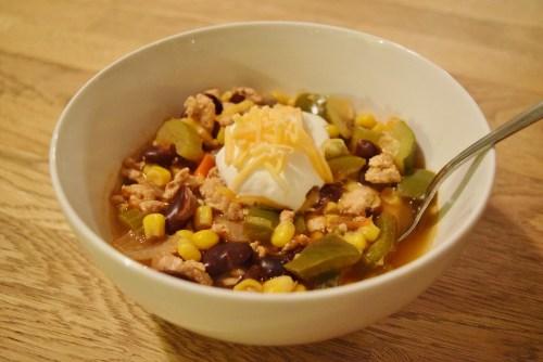 Turkey and Vegetable Chili- www.freshapron.com