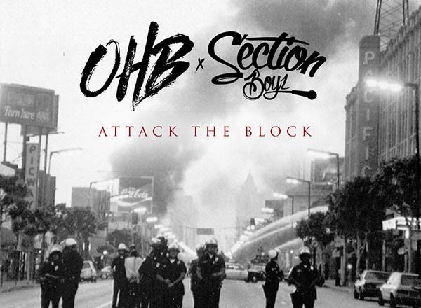 Chris Brown x OHB x Section Boyz - Attack The Block (Mixtape Stream/Download)