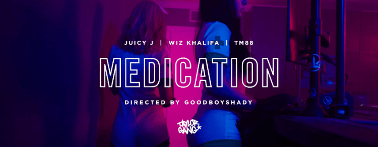 GOD Mafia (Juicy J, Wiz Khalifa & TM88) - Medication (Official Music Video)