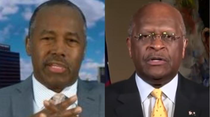 """Herman Cain Defends Ben Carson in Open Letter: """"House Negroes Stand Up!"""""""