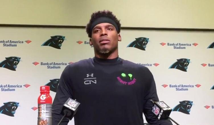 Cam Newton Rolls Eyes at Reporter; Abruptly Walks out of Press Conference