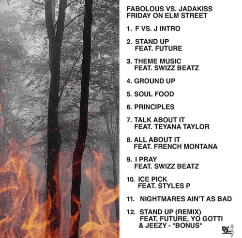 Jadakiss & Fabolous - Friday On Elm Street (Album Stream)
