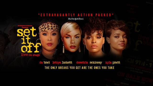 """Da Brat Is Set To Play Cleo In The Stage Play Of The Classic Film """"Set It Off!"""""""