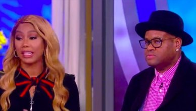 Tamar and Vince Say a 'Friend' Lied About Him Getting Woman Pregnant