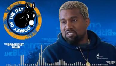 """Kanye West Gets """"Donkey Of The Day"""" After Saying Slavery Was A Choice!"""