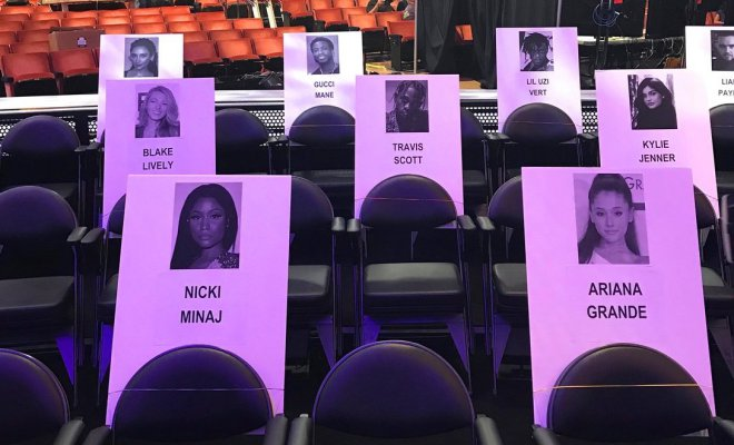 Is MTV's VMA seating plan set up for drama?