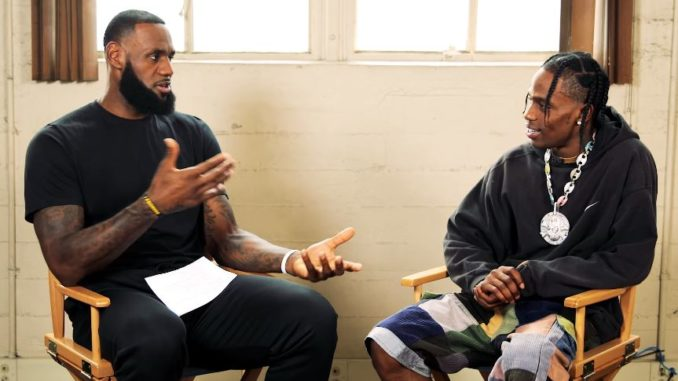Lebron James Talks To Travis Scott About Being The Executive Producer For The Nba 2k Soundtrack!