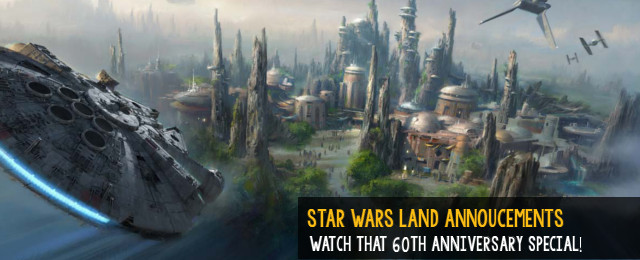 Star Wars Land announcements coming