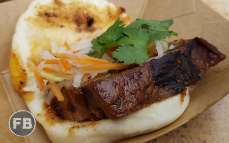 Food and Wine Festival Pork Bao
