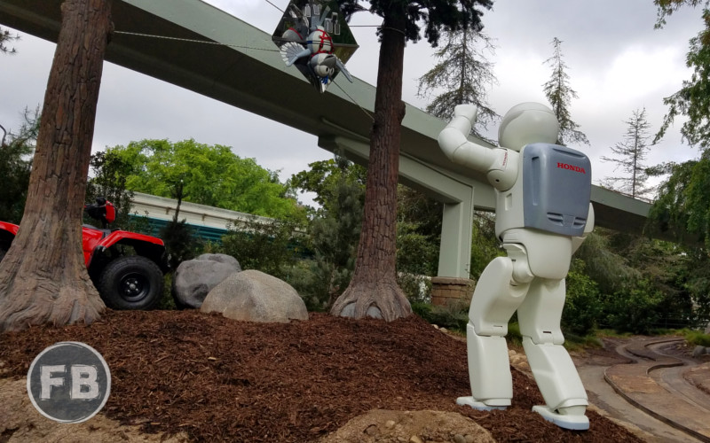 Autopia - Asimo additions